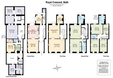 Royal Crescent floorplan