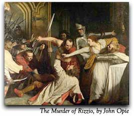 The Murder of Rizzio