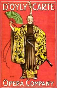 English: 1919 D'Oyly Carte Opera Company publi...
